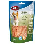 Trixie Premio лакомства для собак, куриные монеты 100 гр