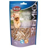 Trixie Premio лакомства для собак, полоски с рыбой и кроликом 100 гр
