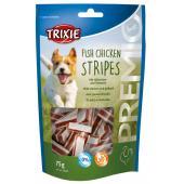 Trixie Premio лакомства для собак, полоски с курицей и рыбой 75 гр