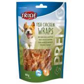 Trixie Premio лакомства для собак, роллы из рыбы и курицы 80 гр