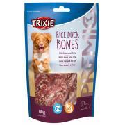Trixie Premio лакомства для собак, утка с рисом в форме косточки 80 гр