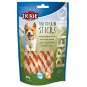 Trixie Premio лакомства для собак, куриные палочки с рыбой 80 гр