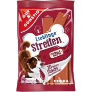 Edeka Lieblings Streifen жевательные полоски для собак с говядиной, 20 шт.