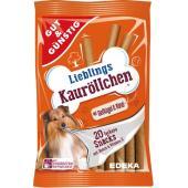 Edeka Lieblings Kauröllchen жевательные роллы для собак с птицей и говядиной, 20 шт.