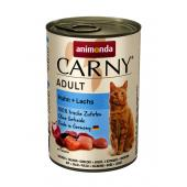 Carny Adult консервы с курицей и лососем 400 гр