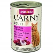Carny Adult консервы с говядиной, индейкой и креветками 400 гр
