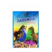 Папужка Кальций полноценный витаминизированный корм для волнистых попугаев 575 г