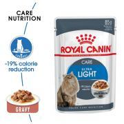 Royal Canin Light влажный корм для кошек, склонных к полноте в соусе, 85 г