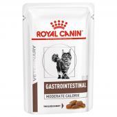 Royal Canin Gastro Intestinal влажный корм для кошек при лечении желудочно-кишечного тракта в соусе, 85 г
