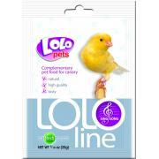 Lolo pets Sing Song дополнительная кормовая смесь для канареек, способствующая пению, 20 г
