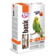 Lolo pets фруктовый корм для волнистых попугаев, 500 г