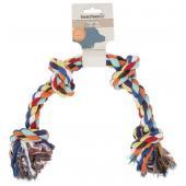 Beeztees Flossy rope игрушка-канат для собак, 4 узла, 60 см