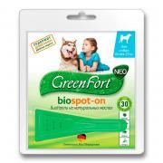 Green Fort био капли, средство от эктопаразитов для собак более 25 кг, 2,5 мл