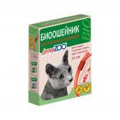 Доктор ZOO биоошейник против блох и клещей для кошек и мелких собак: цвет красный, 35 см
