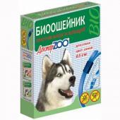 Доктор ZOO ошейник против блох и клещей для собак: цвет синий, 65 см
