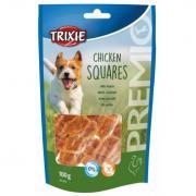 Trixie PREMIO Chicken Squares лакомство для собак с мясом курицы, 100 г