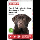 Beaphar Flea & Tick ошейник инсектоакарицидный для собак, зеленый, 65 см
