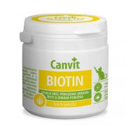 Canvit Biotin витамины для укрепления кожи и против выпадения шерсти для кошек, 100 т