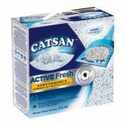 Catsan Active Fresh впитывающий гигиенический наполнитель, 5 л