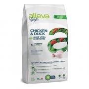 Alleva Holistic Chicken & Duck Puppy Mini Dog сухой корм для щенков мелких пород с курицей и уткой, алое вера и женьшенем, 2 кг