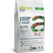 Alleva Holistic Chicken & Duck Puppy Medium Dog сухой корм для щенков средних пород с курицей и уткой, алое вера и женьшенем, 2 кг