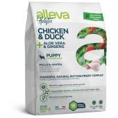 Alleva Holistic Puppy Medium Dog Chicken & Duck сухой корм для щенков средних пород с курицей и уткой, алое вера и женьшенем, 800 г