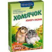 «Хомячок колор+энзим» корм для хомяков, 500гр