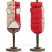 "Pet Fashion жилет ""Микс"" красно-бежевый, размер XS-2"