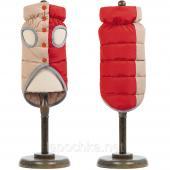 "Pet Fashion жилет ""Микс"" красно-бежевый, размер S"