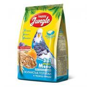 Happy Jungle Корм для волнистых попугаев в период линьки, 500 г
