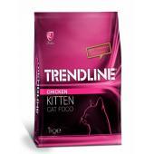 Trendline Kitten корм для котят со вкусом курицы, 1 кг