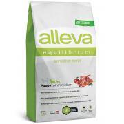 Alleva Equilibrium Sensitive Lamb Puppy Mini/Medium сухой корм для щенков мелких и средних пород с ягненком, 2 кг