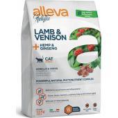 Alleva Holistic Cat Adult Lamb and Venision корм для взрослых кошек с ягненком, олениной, коноплей и женьшенем, 1.5 кг