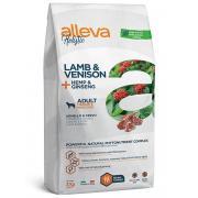 Alleva Holistic Adult Lamb and Venision Medium/Maxi корм для взрослых собак средних и крупных пород с ягненком, олениной, коноплей и женьшенем, 2 кг