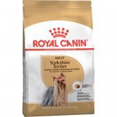 Royal Canin Yorkshire Terrier Adult сухой корм для взрослых собак породы йоркширский терьер (целый мешок 1.5 кг)