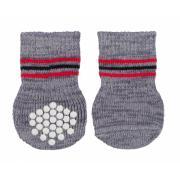Trixie носочки для собак нескользящие из хлопка, размер S-M, 2 шт