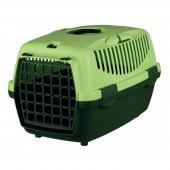 Trixie переноска для кошек и собак мелких пород, зеленая/салатовая, 32×31×48 см