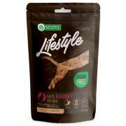 Nature's Protection Lifestyle лакомство для кошек мягкие ленты из мяса кролика, 75 г