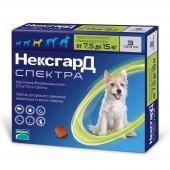 Нексгард Спектра жевательная таблетка для собак весом от 7,5 до 15 кг, 1 шт