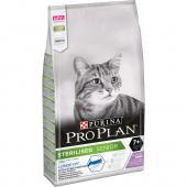 Pro Plan Sterilised Senior 7+ cухой корм для стерилизованных кошек и кастрированных котов старше 7 лет с индейкой (на развес)