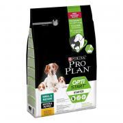 Pro Plan Mother & Puppy Small & Medium OptiStart - Chicken полнорационный сухой корм для щенков средних и мелких пород, с высоким содержанием курицы (на развес)