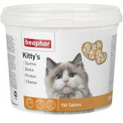 Beaphar Kitty's кормовая добавка для нормализации обмена веществ у кошек и котят, 750 т