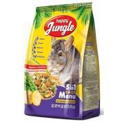 Happy Jungle основной рацион для шиншиллы, 400 г