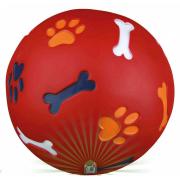 Trixie мячик для собак, Ø 11 см, красный