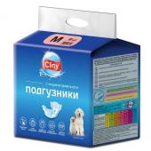 Cliny подгузники с индикатором влаги, размер M, вес 5-10 кг, объём 30 х 40 см, 9 шт