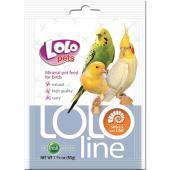 LoloLine-ракушки и кальций для птиц, минеральная кормовая смесь, 50 г