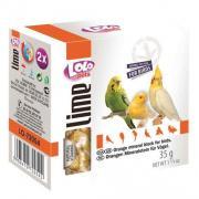Lolo Pets Lime минеральный камень натуральный для птиц, 35 г