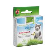 Nova Gard Green Anti-Parasit капли натуральная альтернатива против блох и клещей для кошек, 2 x 1,5 мл