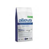 Alleva Equilibrium Weight Control Adult All Breeds полнорационный сухой корм для взрослых собак всех пород, для контроля веса с океанической рыбой, (целый мешок 12 кг +1 кг в подарок)