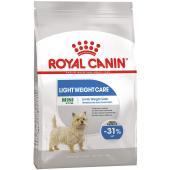 Royal Canin Mini Light Weight Care Adult сухой корм полнорационный для взрослых и стареющих собак мелких пород весом до 10 кг, склонных к набору лишнего веса, (целый мешок 8 кг)